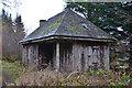 NO0143 : Disused building at Polney Loch by Jim Barton