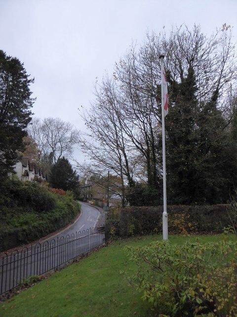 St Mary Magdalene, Sheet: flagpole