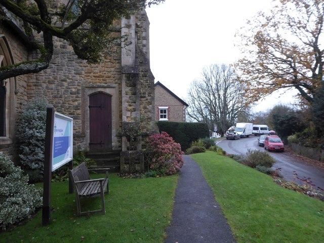 St Mary Magdalene, Sheet: church path