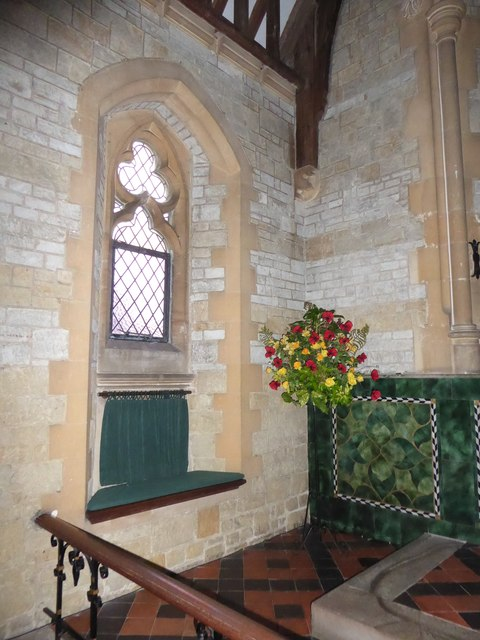 St Mary Magdalene, Sheet: floral display