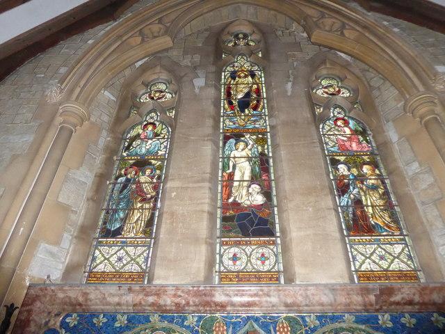 St Mary Magdalene, Sheet: east window