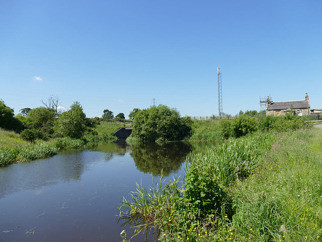 Widening of the Union Canal near Tamfourhill
