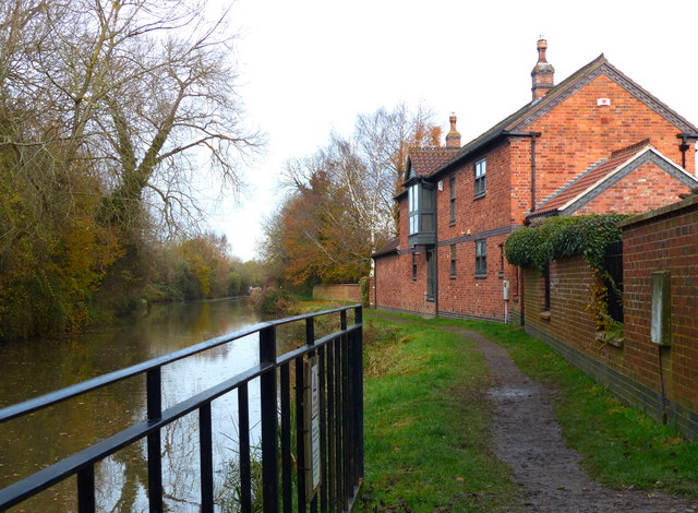House along the canal