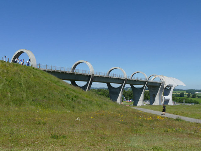 Aqueduct to the Falkirk Wheel
