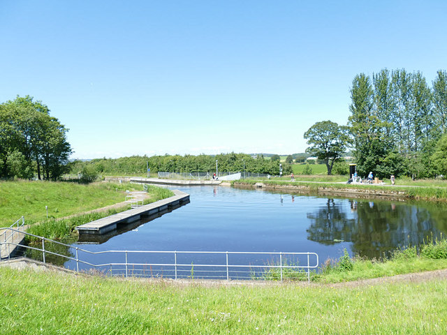 Forth and Clyde Canal below the Falkirk Wheel