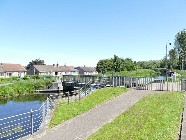 Swing bridge on the Forth and Clyde Canal