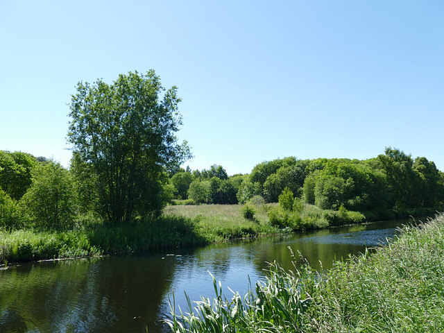 Open space by the Forth and Clyde Canal