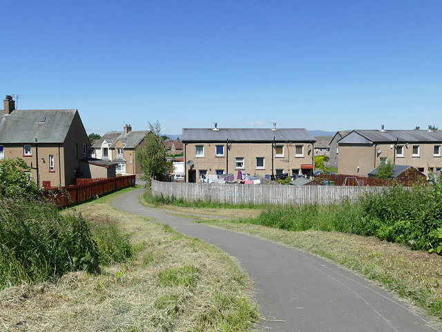 Path off the Forth and Clyde Canal