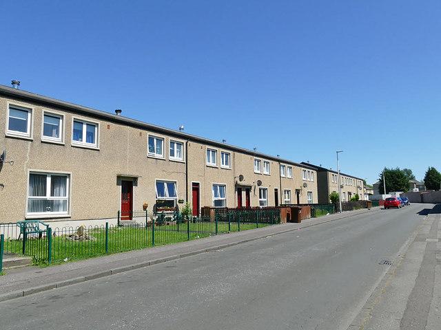 Housing on Fairlie Drive