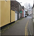 SO0428 : No parking in Little Free Street, Brecon by Jaggery