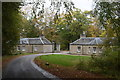 NJ7508 : North lodges, Dunecht estate (read view) by Bill Harrison