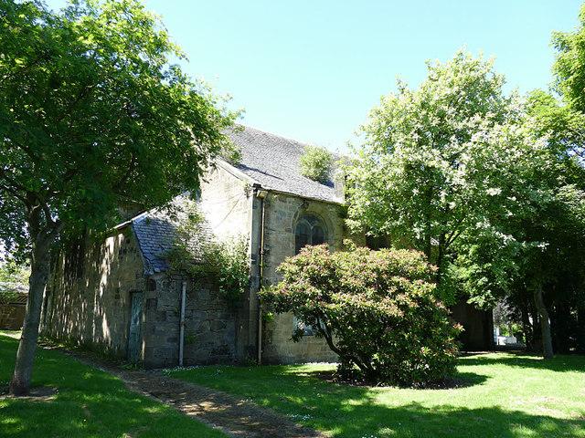 Former St John's parish church, Camelon, rear