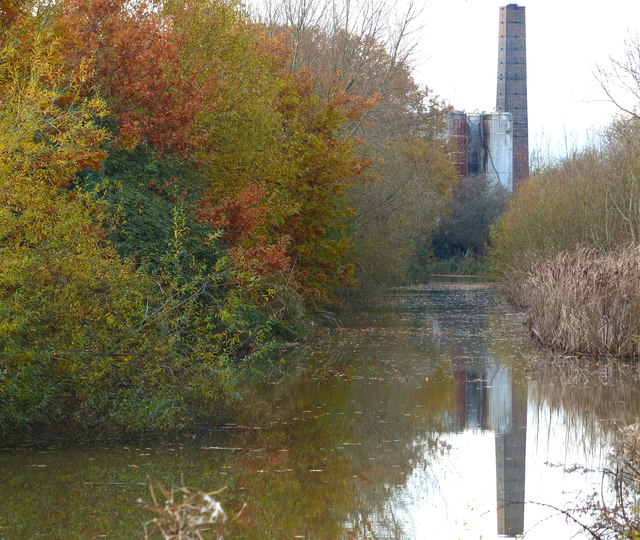 Chimney overlooking the canal