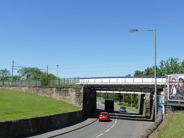 Railway bridge over Stirling Road, Camelon