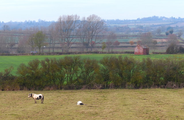 Farmland near Gallow Hill