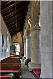 TQ1711 : Steyning, St. Andrew and St. Cuthman Church: The south aisle by Michael Garlick