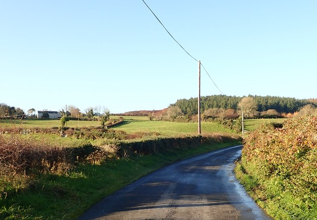 View West along Drumgavlin Road