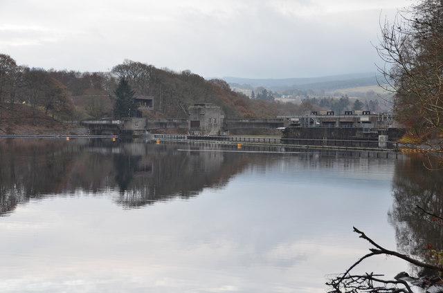Loch Faskally and Pitlochry dam