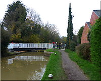 SP7089 : Foxton Swing Bridge No 4 by Mat Fascione