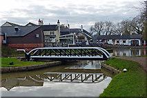 SP6989 : Foxton Junction Swing Bridge by Mat Fascione