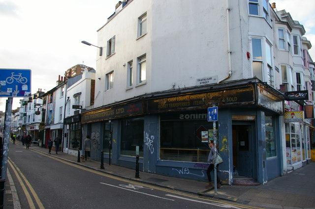 Brighton: Trafalgar Street