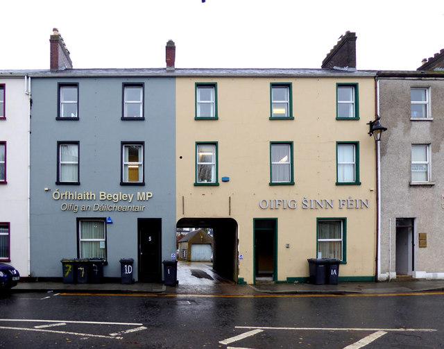 Órfhlaith Begley MP / Oifig Ṡinn Féin, Omagh