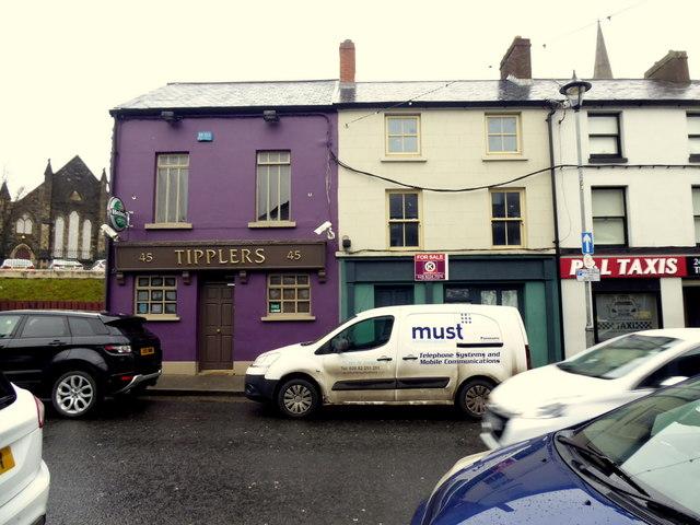 Tipplers bar, Omagh
