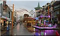SK5804 : Fairground rides on Humberstone Gate, Leicester by Mat Fascione