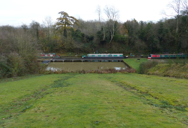 The site of the Foxton Inclined Plane Boat Lift