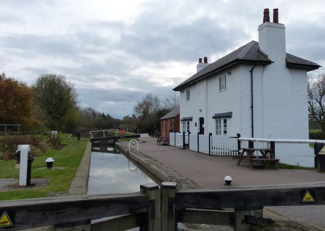 Lock keepers cottage at Foxton Locks