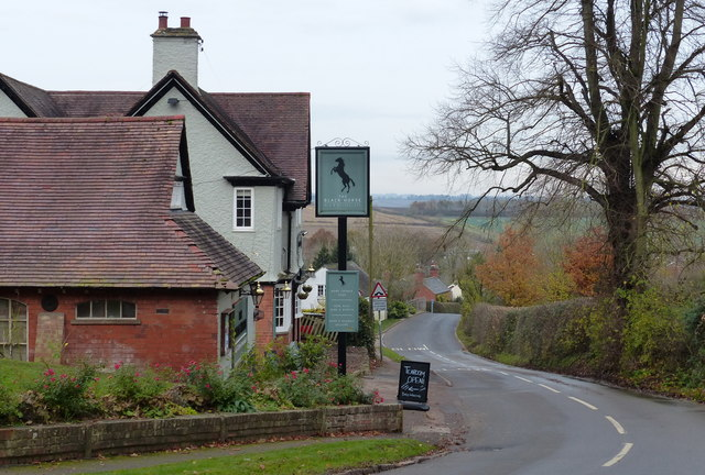 The Black Horse in Foxton