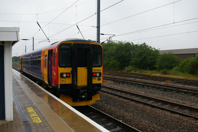Connection to Lincoln, Newark Northgate station