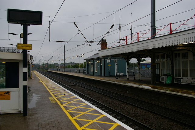 Newark Northgate station, looking south
