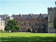 ST5545 : Bishop's Palace, Wells [2] by Michael Dibb