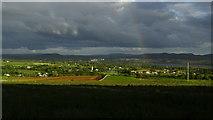 G6432 : Evening light & rainbow over Knocknahur from Grange North, Co Sligo by Colin Park