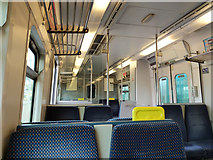 W6872 : Interior of Iarnród Éireann railcar 2605 by Robin Webster