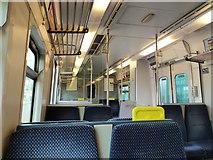 W6872 : Interior of Iarnród Éireann railcar 2605 by Robin Webster