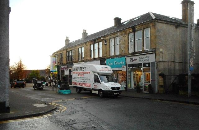 Shops, Mugdock Road, Milngavie