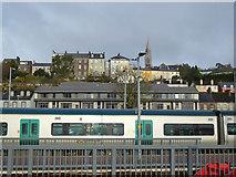 W6872 : Hill above Kent Station, Cork by Robin Webster