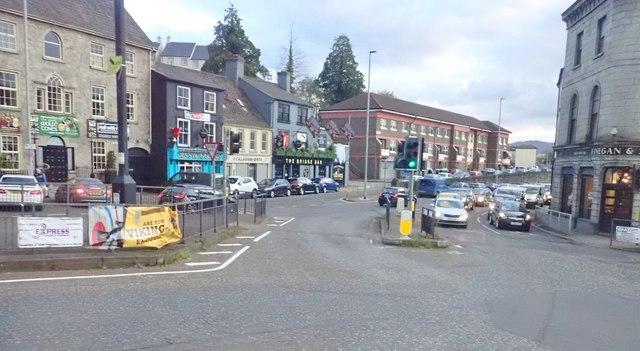 Upper Water Street, Newry, viewed from Sugar Island Bridge