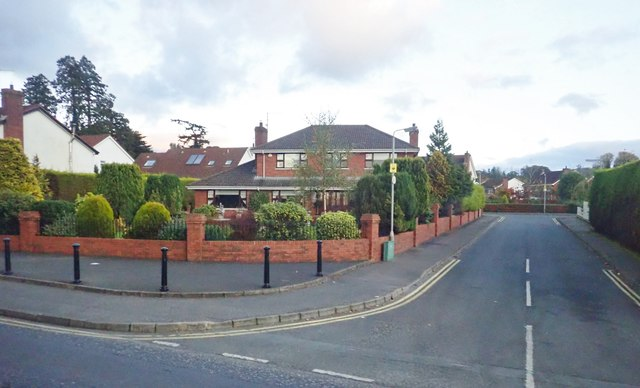 Detached house at the Hollywood Gardens junction on the Rathfriland Road, Newry