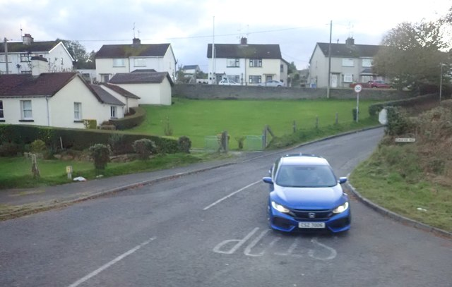 Crieve Road junction on the B8 (Hilltown Road)