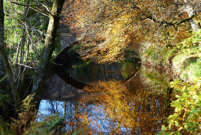 Autumn at the Arched Bridge