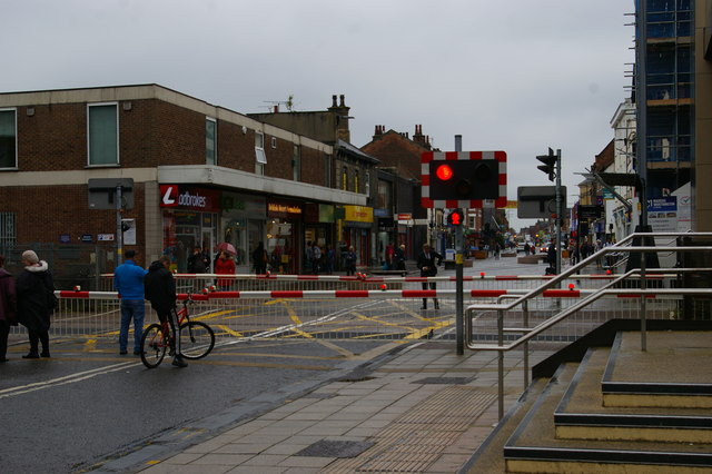 Lincoln: High Street level crossing
