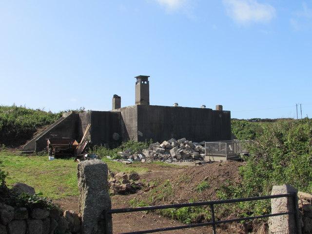 Wartime Bunker reused