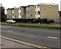 ST1580 : Three storey flats, Ash Grove, Cardiff by Jaggery