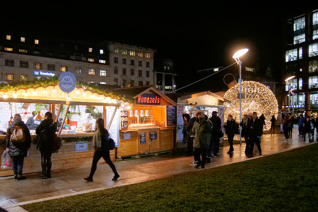 Manchester Christmas Market - Piccadilly Gardens