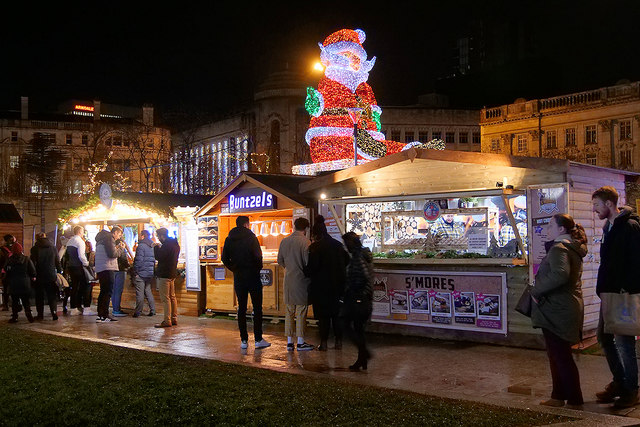The Christmas Market at Piccadilly