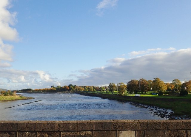 The Castletown River below the Newry Road Bridge