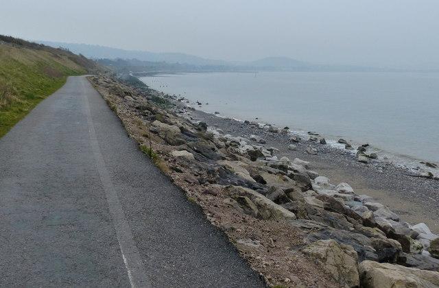 Wales Coast Path at Colwyn Bay